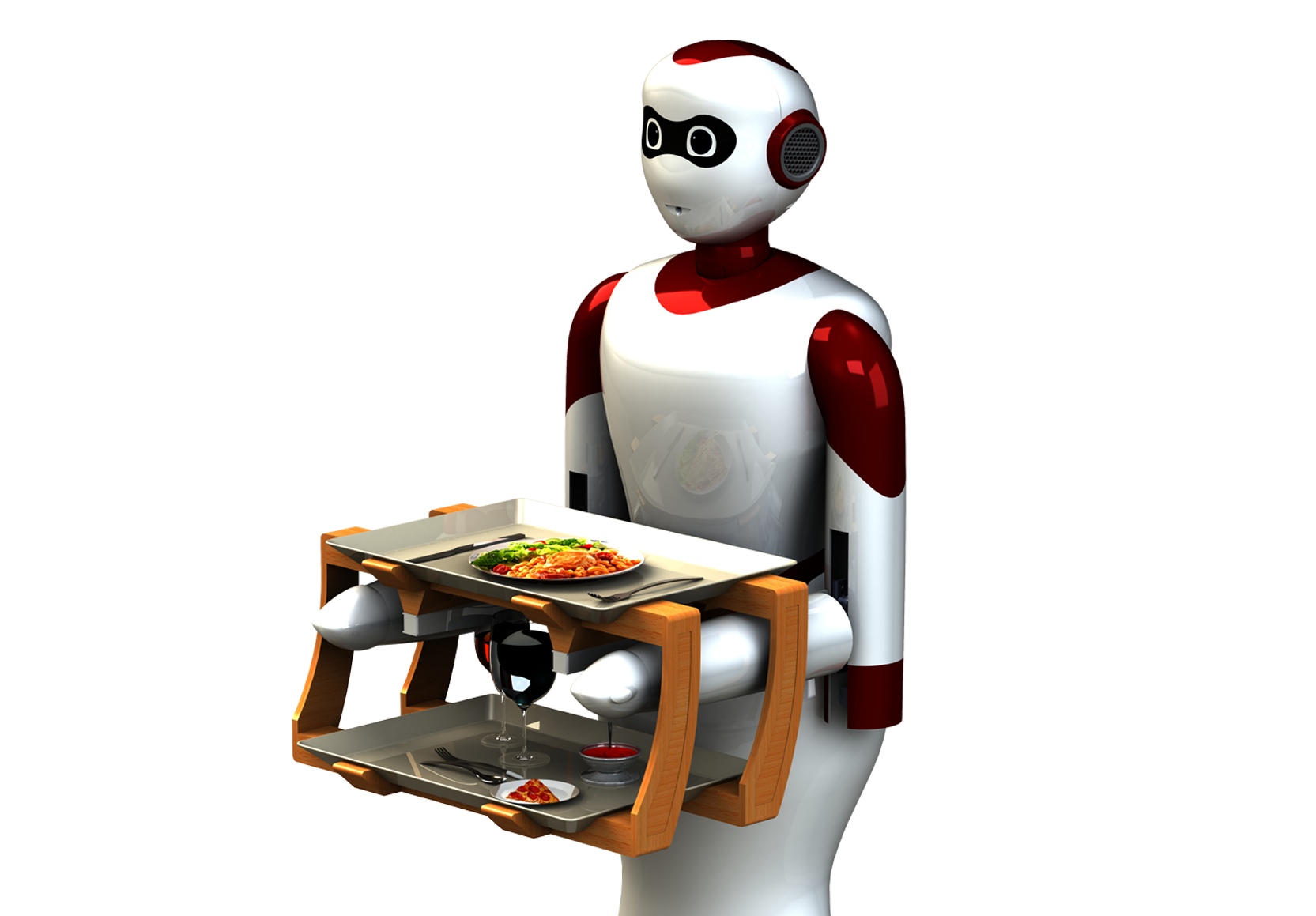 Beautifully designed waiter robot from Paaila Technology for you hotel and restaurant