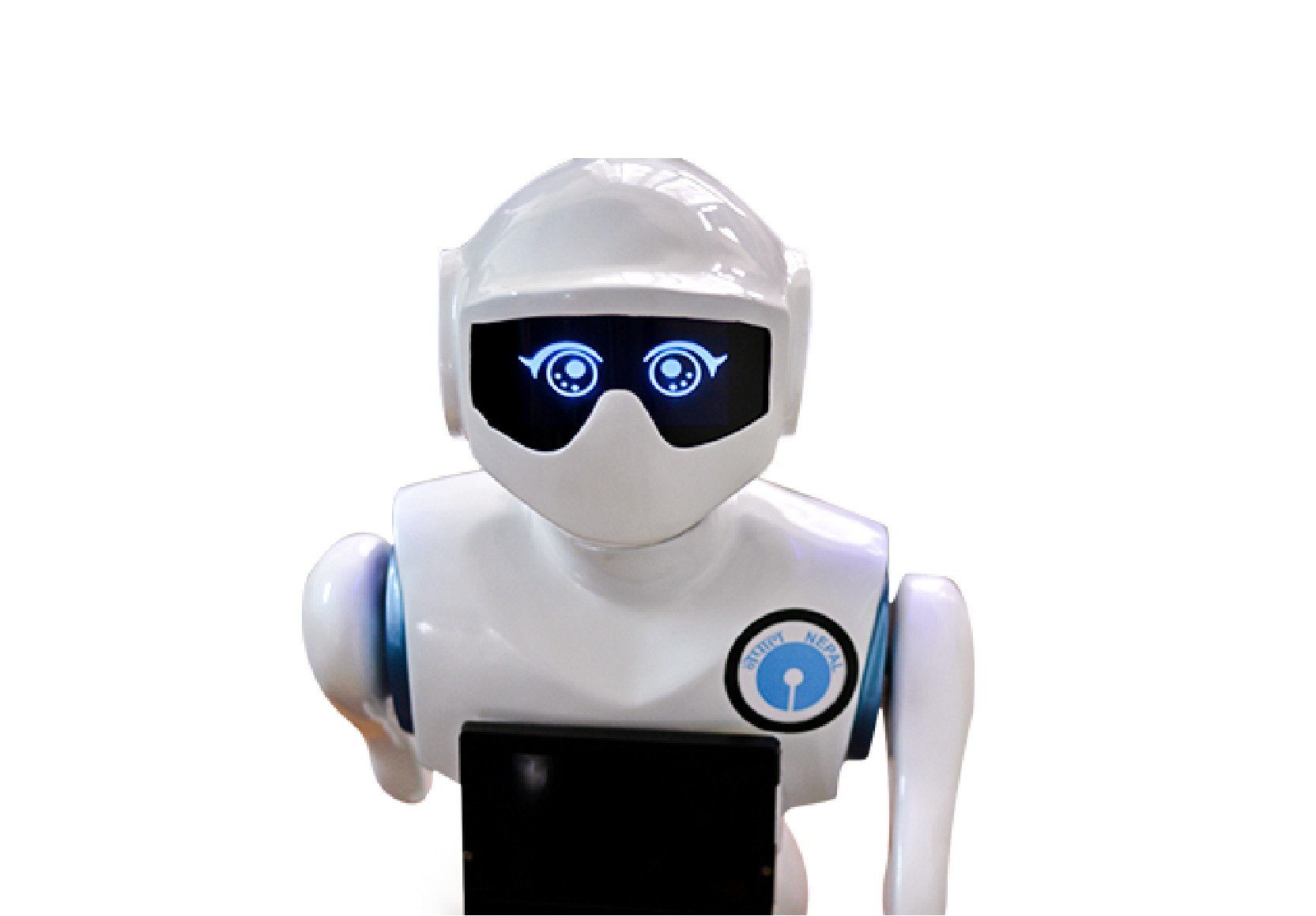 Humanoid Robot Pari for human interaction powered by advanced AI technologies.